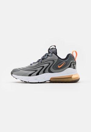 AIR MAX 270 REACT - Sneakers basse - iron grey/total orange/particle grey/black