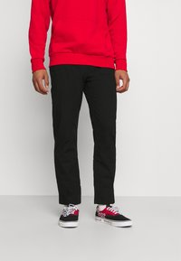 Tommy Jeans - ETHAN BLEND PANT - Chino - black - 0