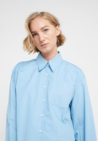 Rika - BLAZE  - Button-down blouse - ocean blue - 3