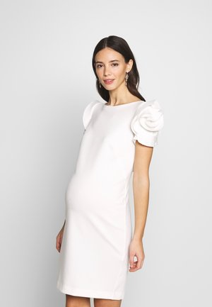 CAPRI - Shift dress - white
