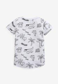 Next - 3 PACK - Print T-shirt - multi-coloured - 4