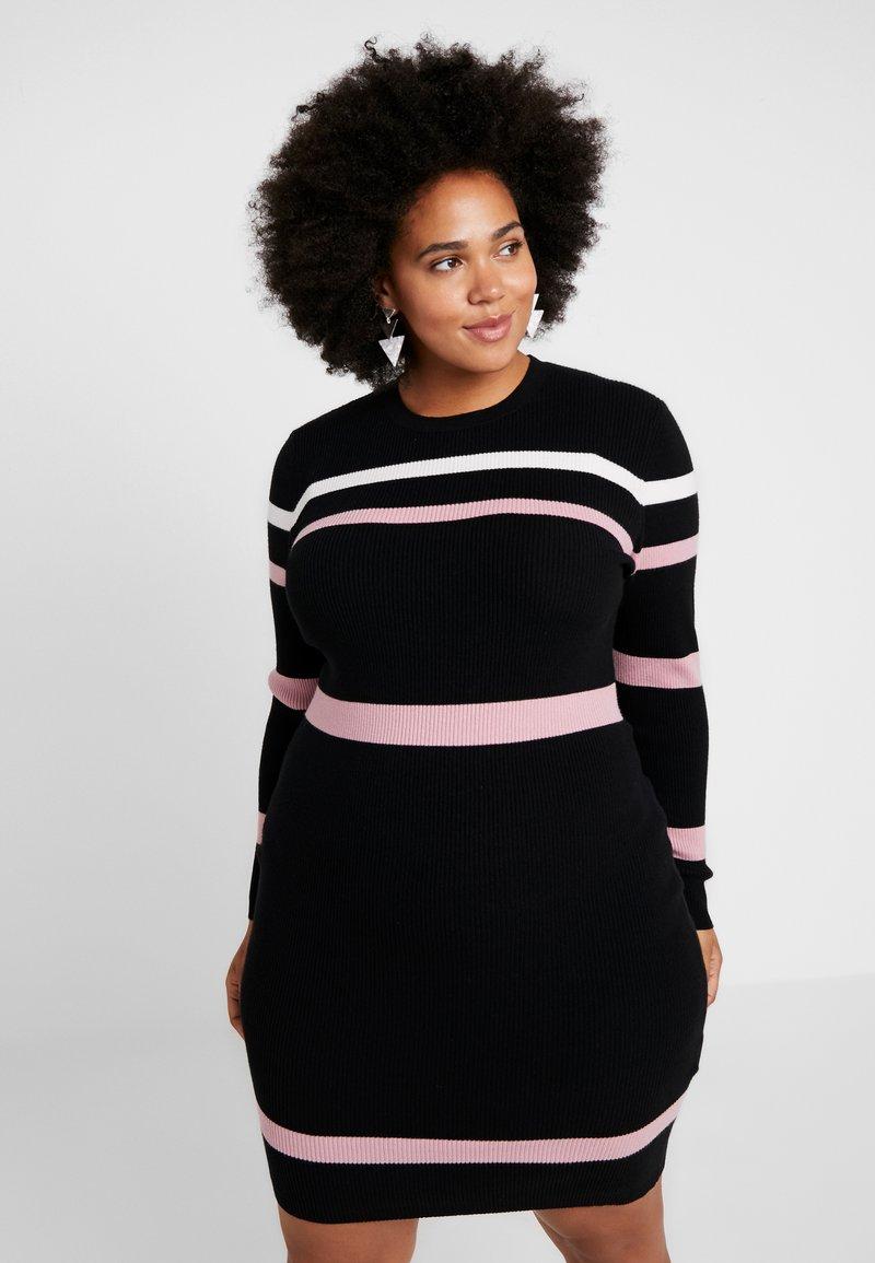 Anna Field Curvy - Shift dress - black