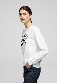 KARL LAGERFELD - Sweatshirt - white - 3