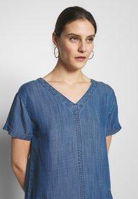 Esprit - DRESS  - Jeanskjole / cowboykjoler - blue medium wash - 3