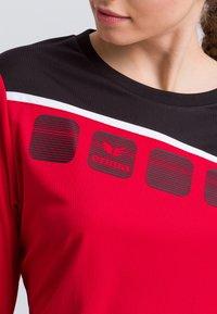 Erima - Sports shirt - red/black/white - 3