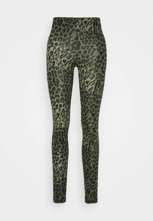 ONLBELLA LIVE LOVE LEGGINGS  - Leggings - kalamata green