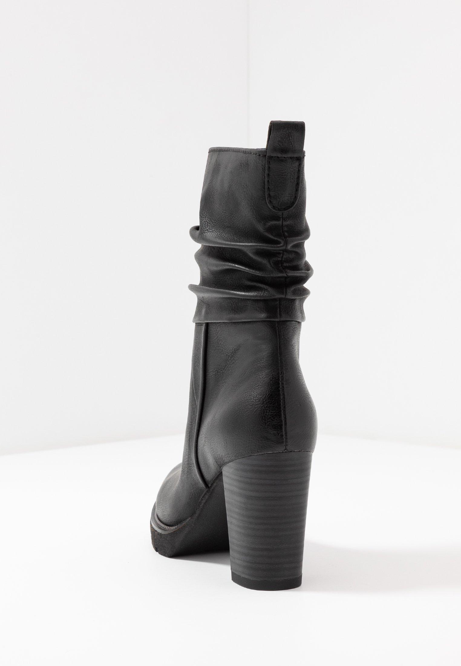Marco Tozzi Høye hæler - black antic