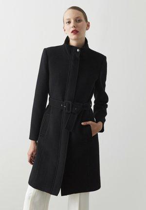 HEAVY - Klasyczny płaszcz - black
