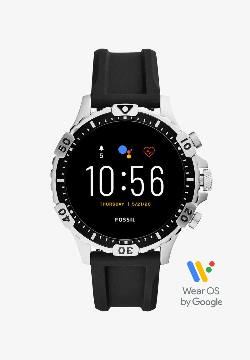 Fossil Smartwatches - GARRETT - Smartwatch - black