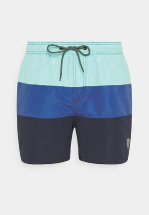 JJIBALI JJSWIM COLORBLOCK - Swimming shorts - navy blazer