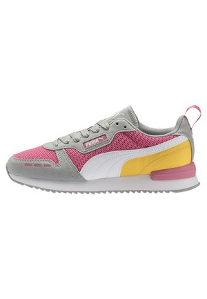 R78 UNISEX - Trainers - bubblegum-high rise- white