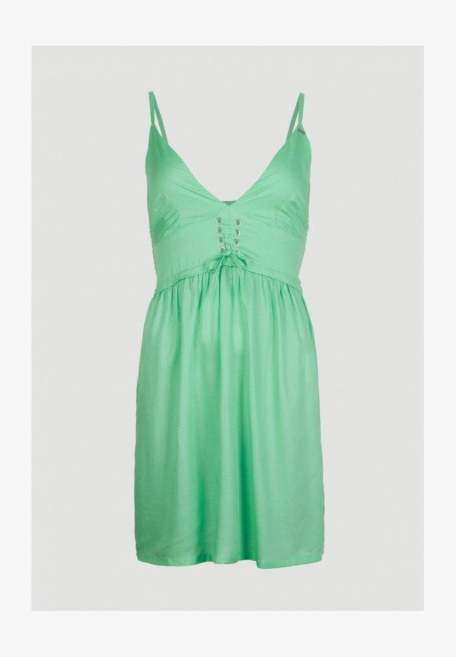 Korte jurk - pretty green