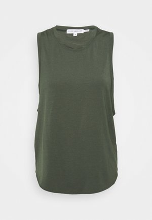 SLINKY HIGH LOW TANK - Top - cactus