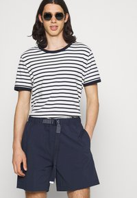 Tommy Jeans - BELTED BEACH  - Shorts - blue - 3