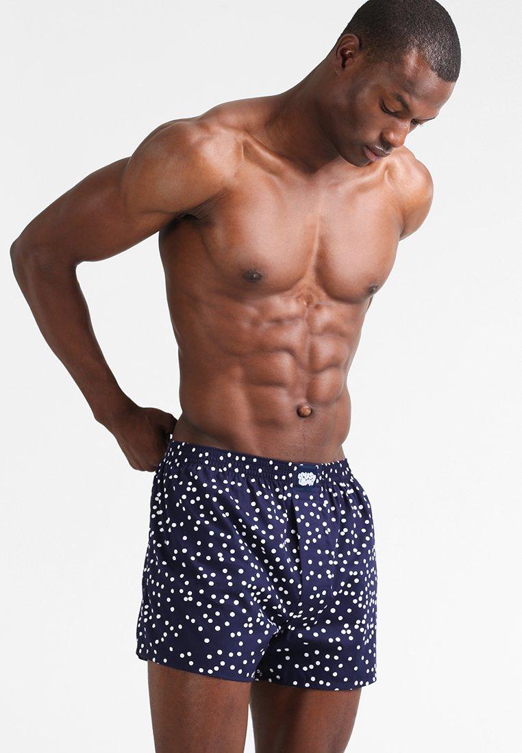 Lousy Livin Underwear - DOTS - Boxer - navy