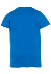 Tommy Hilfiger - FUN FLAG TEE  - Print T-shirt - blue - 1