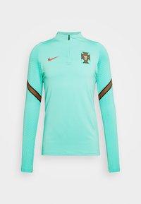 Nike Performance - PORTUGAL DRY DRIL - Equipación de selecciones - mint/sport red - 4