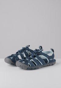 Keen - CLEARWATER CNX - Walking sandals - navy/blue glow - 2