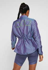 Nike Performance - AIR - Kurtka do biegania - voltage purple/light aqua/electric green/black - 2