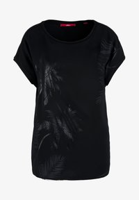 s.Oliver - MIT LAYERING-EFFEKT - Blouse - black placed print - 6