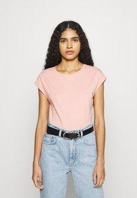 Dorothy Perkins - ROLL SLEEVE TEE 3 PACK - T-shirts - peach - 3