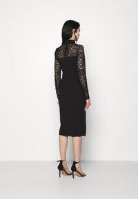 WAL G. - HIGH NECK DRESS - Cocktail dress / Party dress - black - 2