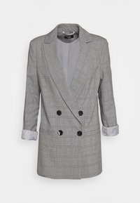 Wallis - CHECKED - Short coat - grey - 0
