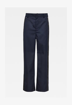 WIDE WORKWEAR ULTRA HIGH - Trousers - naval blue