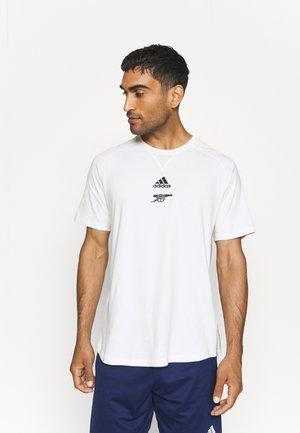 ARSENAL LONDON TEE - Klubbkläder - off white