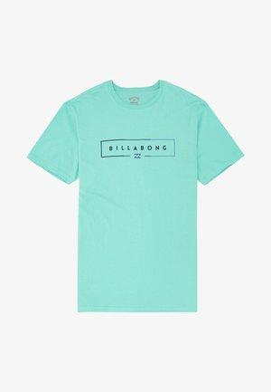 UNITY  - Print T-shirt - light aqua