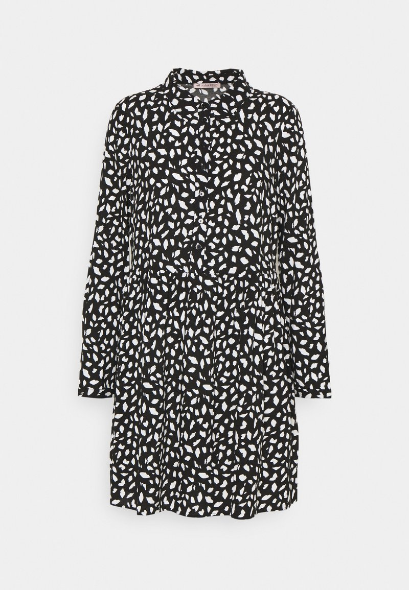 Anna Field - Shirt dress - black/white