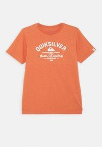 Quiksilver - SCREEN TEE - Print T-shirt - chili - 0