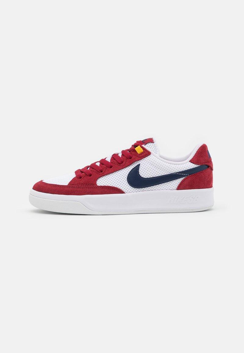 Nike SB - ADVERSARY UNISEX - Skate shoes - pomegranate/midnight navy/pollen/white/light brown