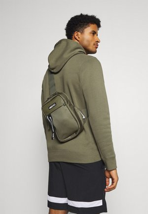 CROSSBODY UNISEX - Zaino - medium olive/black/white