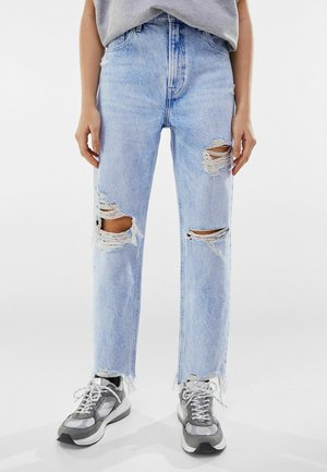 MOM FIT JEANS - Jeans baggy - blue