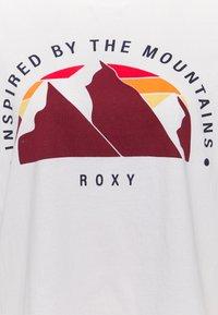 Roxy - START ADVENTURES - Print T-shirt - white - 2