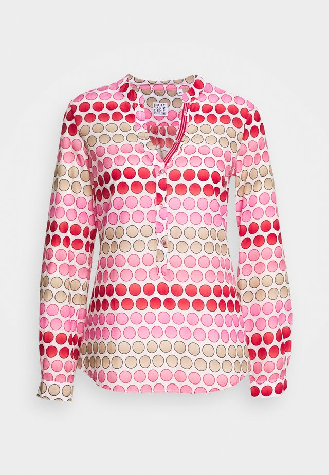 Bluser - pink/red