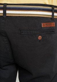 INDICODE JEANS - ROYCE - Shorts - black - 3