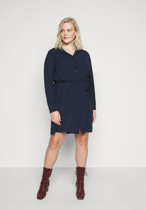 VMSAGA DRESS  - Shirt dress - navy blazer