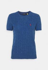 TEE SHORT SLEEVE - Print T-shirt - aged royal heather