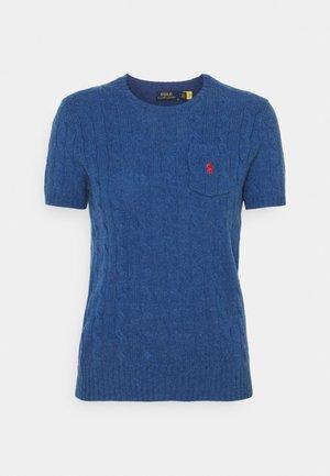 TEE SHORT SLEEVE - T-shirt print - aged royal heather
