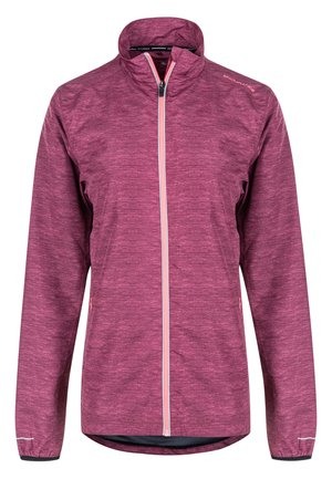 KANIE W MELANGE - Training jacket - 4132 tawny port