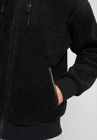 Nike SB - SHERPA  - Fleecejakker - black/black - 3