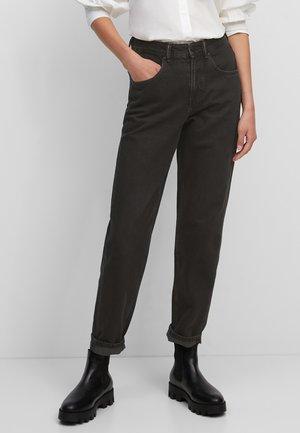 Straight leg jeans - multi/worn vintage black