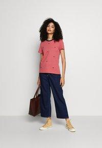edc by Esprit - CORE SLUB - T-shirts med print - blush - 1