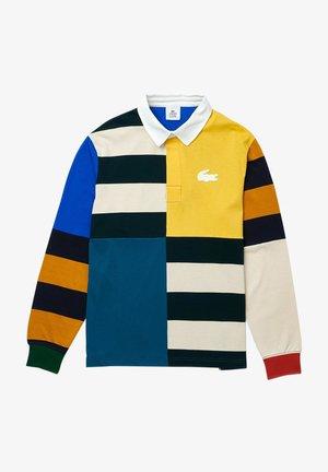 Polo shirt - jaune  blanc