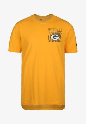 BAY PACKERS - T-shirt imprimé - university gold