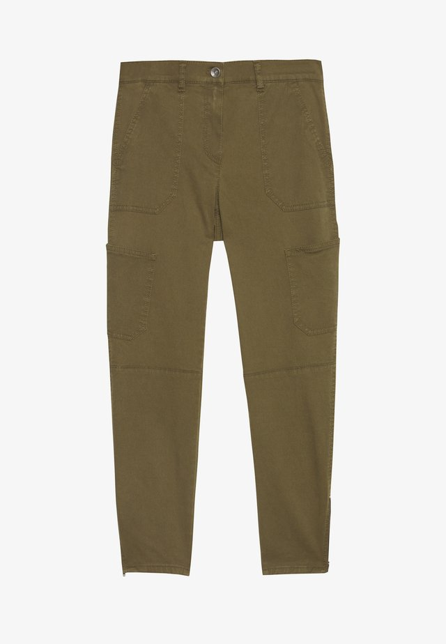 FREIZEIT - Trousers - olive branch