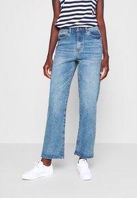 Object Tall - OBJMOJI  - Relaxed fit jeans - medium blue - 0