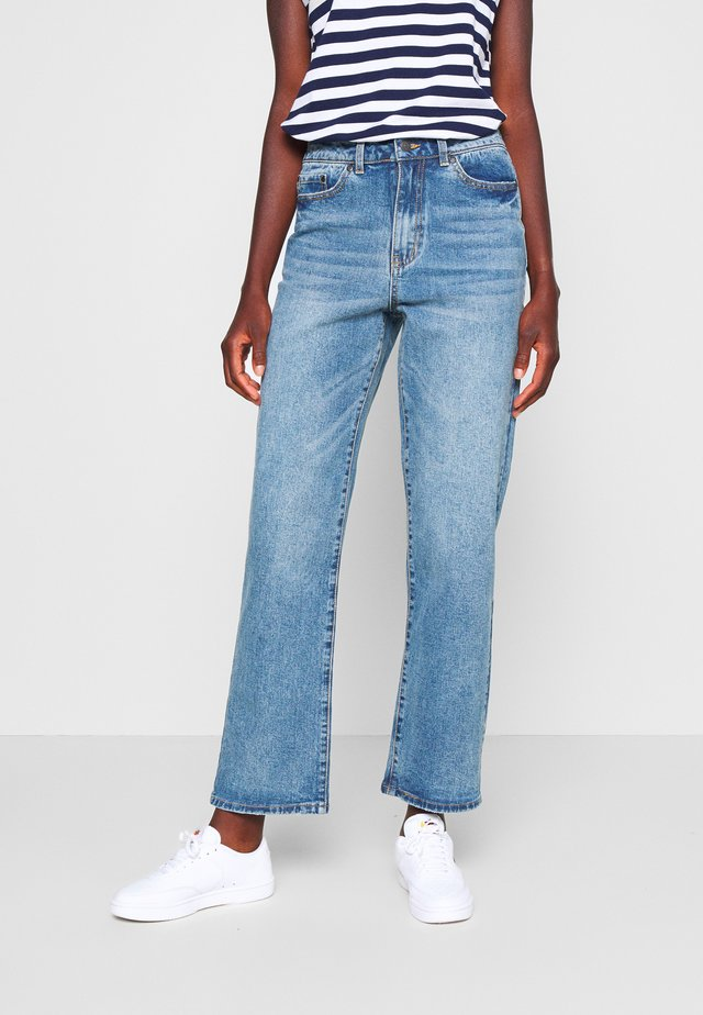 OBJMOJI  - Jeans baggy - medium blue